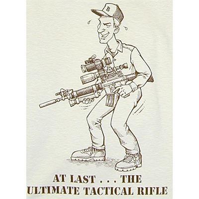 Tシャツ拘りのタクティカルライフル