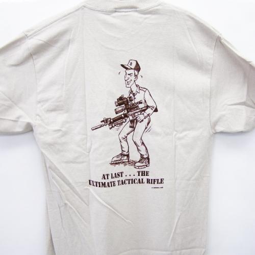 Tシャツ拘りのタクティカルライフル2