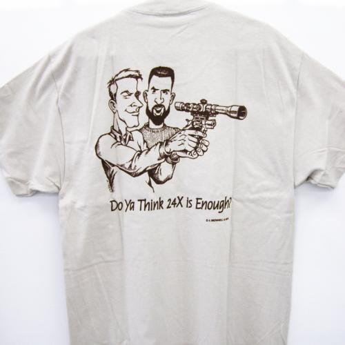 Tシャツピストル射手の考察